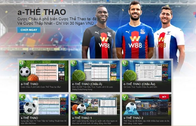 Meo cuoc the thao ao chien thang tai W88