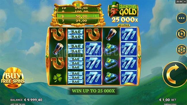 Cach choi emerald gold tai w88